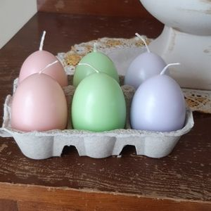 Partylite Spring/Easter Unscented Pastel Candles
